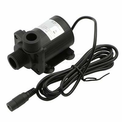 800L/H 5M 12V DC Brushless Water Pump Water Heater Booster Pump With Flow Switch