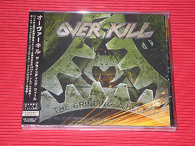 2017 OVERKILL The Grinding Wheel with Bonus Tracks (Total 12tracks)  JAPAN CD