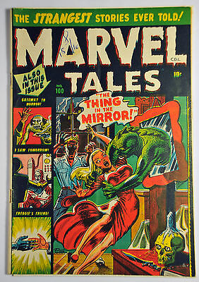 Marvel Tales #100 (1951) Rare Canadian Print. Russ Heath Cover. Fine Range.