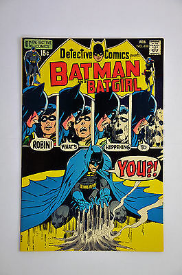 Detective Comics #408 (1971) Neal Adams. free We Are Robin #9, Homage cover, VF.
