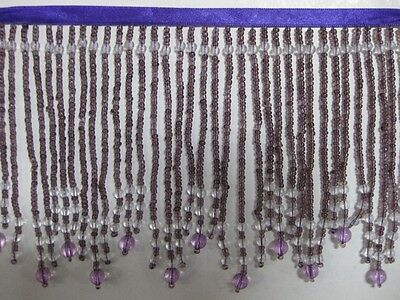 "5 To 5.5 ""Long- Beaded- Fringe- Trim- Excellent-Quality-15"