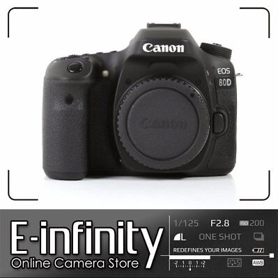 NUEVO NEW Canon EOS 80D DSLR Camera Built-In Wi-Fi with NFC Body (Kit Box)