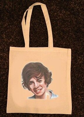 ONE DIRECTION Harry Styles NATURAL COTTON TOTE BAG 1D shopping bag