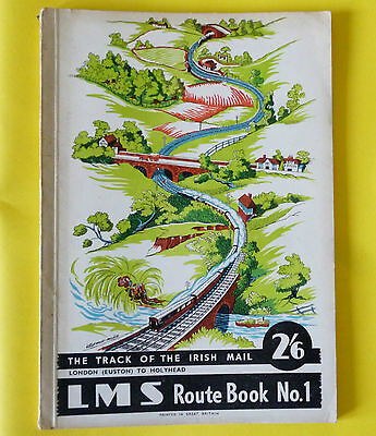 LMS Track of the IRISH MAIL 1947 Route Book No.1