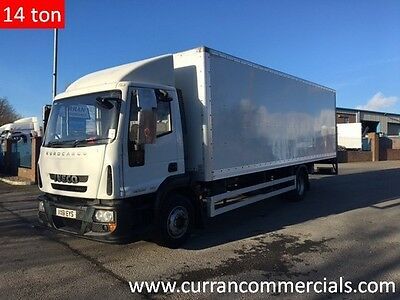 2011(61 plate) Iveco 140e22 Euro Cargo 14 Ton 24ft Bevan Box With Tail Lift