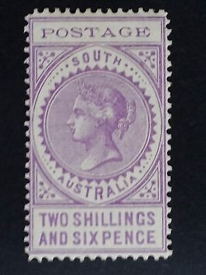 1903- South Australia 2/6- Bright Violet Long Thin Postage Stamp Mint