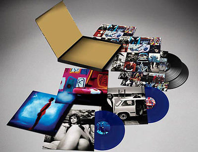 U2 Achtung Baby 20th Anniversary Blue Double Vinyl LP Box Set - NEW LTD
