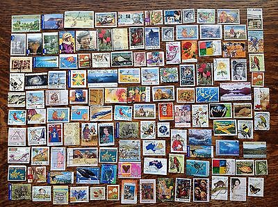 Collection Of Australia Stamps Used