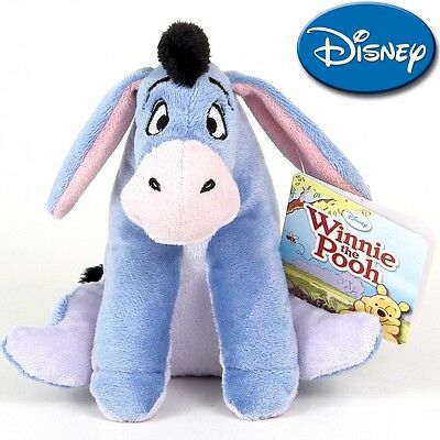 NEW Disney Plush Soft Toys serie: Winnie the Pooh - Eeyore 20 cm./ 8in AUTHENTIC