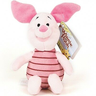 NEW Disney Plush Soft Toy serie Winnie the Pooh - Piglet 20 cm./ 8in AUTHENTIC
