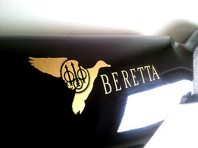 Beretta Vinyl Decal Sticker For Shotgun / Gun / Barrel / Gun Safe / Car / BR4