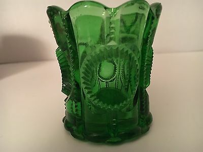 """Tooth Pick Holder """"green """""""