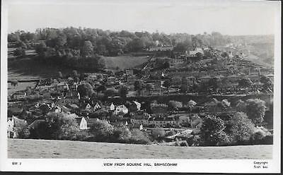 Brimscombe, Gloucestershire - view from Bourne Hill - Frith RP postcard c.1950s