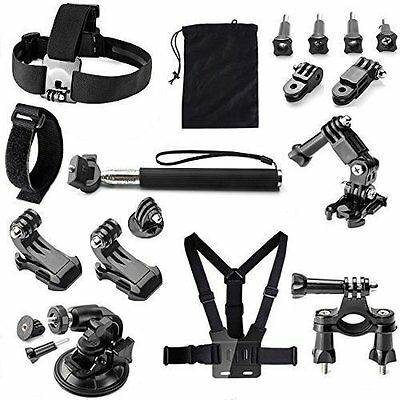 Phillosiya 22 in 1 Action Camera Accessories Kit for GoPro Hero 4