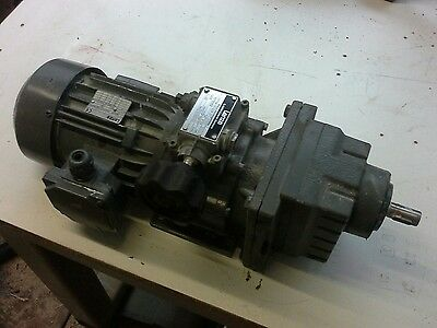 lenze disco variable drive gearbox and motor