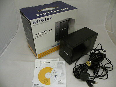 Netgear ReadyNAS Duo Network Storage Device - with 1 x 2TB Hard Drive - BOXED