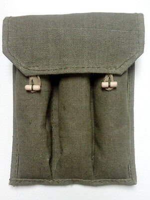 Authentic Soviet Army PPSH-41,PPS-43 WZ43 ammo clip pouch ORIGINAL WW2 shape