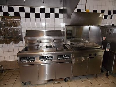 Frymaster Gasfriteuse H50 H50-2 H50 Gasfritiermaschine Friteuse 20/21/20 kW