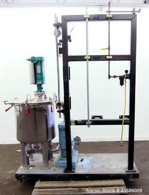 Used- Graco Mixing System consisting of: (1) Graco tank, 45 gallon, 304 stainles