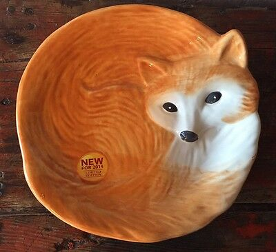 """Fox Heritage Collection Plate Better Homes & Gardens Earthenware 8"""""""