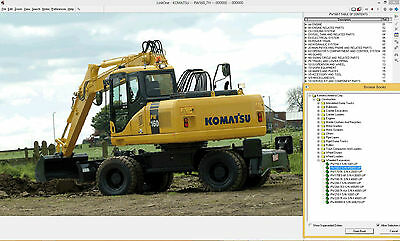 Komatsu Epc Linkone Construction Equipment 2016 Spare Parts Catalogue