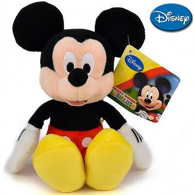 NEW Disney Plush Soft serie: Mickey and Minnie - Mickey 20 cm./ 8in. AUTHENTIC