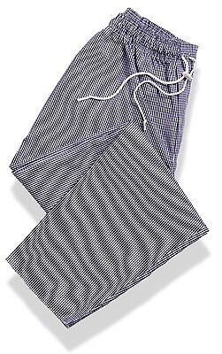 Blue (Gingham) Chef Trousers