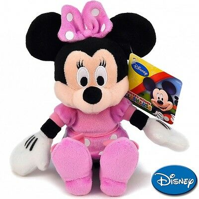 NEW Disney Plush Soft serie: Mickey and Minnie - Minnie 20 cm./ 8in. AUTHENTIC