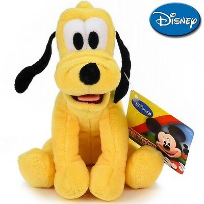 NEW Disney Plush Soft serie: Mickey and Minnie - Pluto 20 cm./ 8in. AUTHENTIC