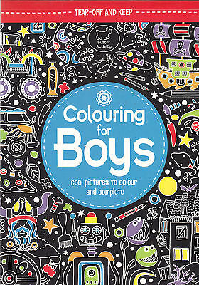 Colouring for Boys, Book, New Paperback