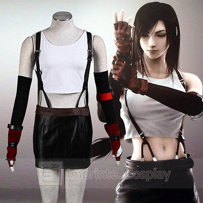 Final Fantasy VII Advent-kinder Tifa Lockhart Cosplay Kostüm Vollständiges Set