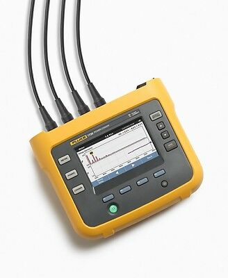 Fluke 1736 3-Phase Power Energy Logger Captures & Logs Over 500 Parameters