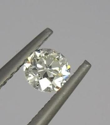 Loose Gia Certified 0.30Ct Old Round Brilliant Cut Diamond Si1/l (2185055695)