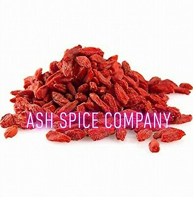 Dried Goji Berries, Berry *A* Grade Quality **Special Offer** Free UK P & P