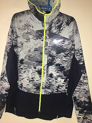 Jacket Nike running Men's Printed Trail chaqueta SHIELD 651234-447 SIZE L