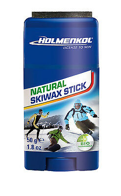 Holmenkol Natural Skiwax Stick Ski and Snowboard Wax