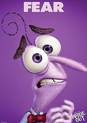 Inside Out - A4 Glossy Poster -TV Film Movie Free Shipping #471