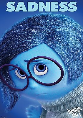Inside Out - A4 Glossy Poster -TV Film Movie Free Shipping #473