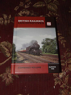 Ian Allan ABC Locomotives Combined Volume 1958 Reprint Steam Locos MINT Book
