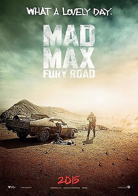 Mad Max Fury Road - A4 Glossy Poster -TV Film Movie Free Shipping #492
