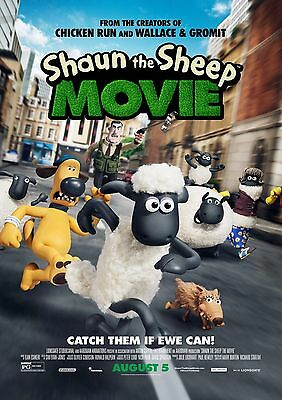 Shaun the Sheep - A4 Glossy Poster -TV Film Movie Free Shipping #495