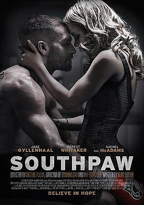 Southpaw - A4 Glossy Poster -TV Film Movie Free Shipping #496