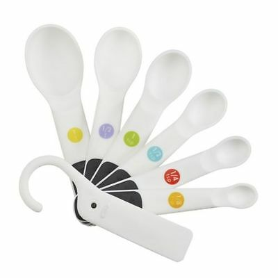 OXO Good Grips Colour Coded 7 Piece Measuring Spoons Set, NEW