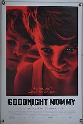 Goodnight Mommy Ds Rolled Orig 1Sh Movie Poster Austrian Horror (2015)