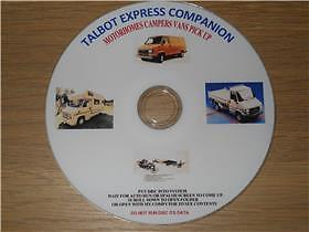 Talbot Express Companion Service Restoring  Guides Workshop Manual Tutorials