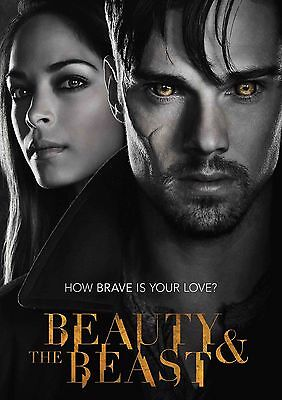 Beauty and the Beast - A4 Glossy Poster TV Film Movie Free Shipping #528