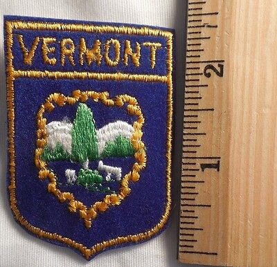 Vermont State Patch (State, Souvenir)