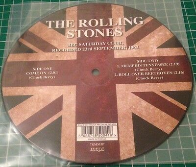 The Rolling Stones - BBC Saturday Club - Recorded 23/09/63 - 7 inch picture disc