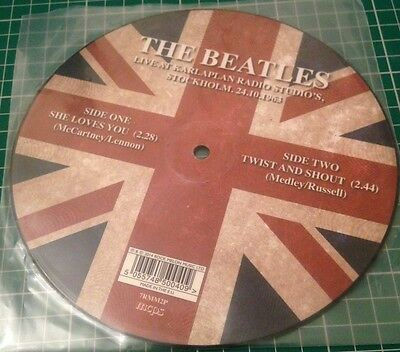 The Beatles - Live at Karlaplan Studios, Stockholm - 7 inch Picture disc (Vinyl)