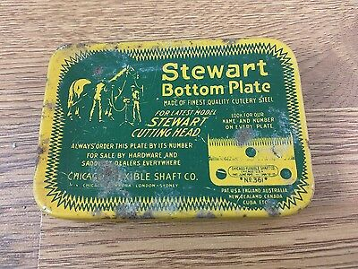 VTG Stewart Bottom Plate Cutting Head Replacement Blade No 99 for Horse Clippers